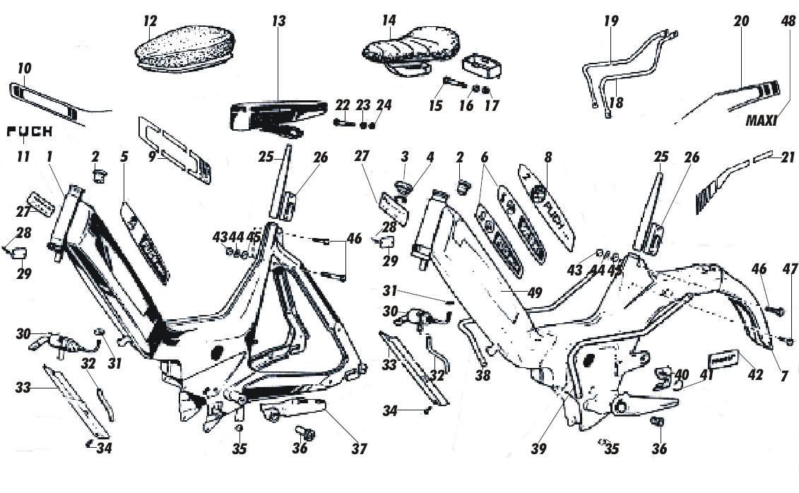 Rahmenteile - Maxi-Shop der schweizer Puch Shop, Seite 2